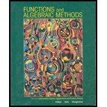 FUNCTIONS+ALGEBRAIC METHODS >C 1st edition cover