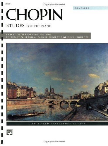 Chopin -- Etudes (Complete)   1995 edition cover