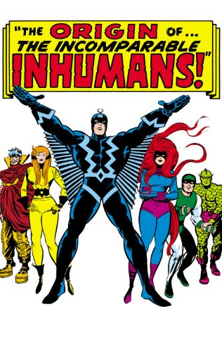 Inhumans The Origin of the Inhumans  2013 edition cover