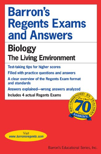 Biology The Living Environment  2017 (Revised) edition cover