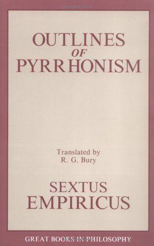 Outlines of Pyrrhonism   1990 (Unabridged) edition cover