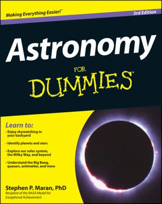 Astronomy for Dummies  3rd 2013 edition cover