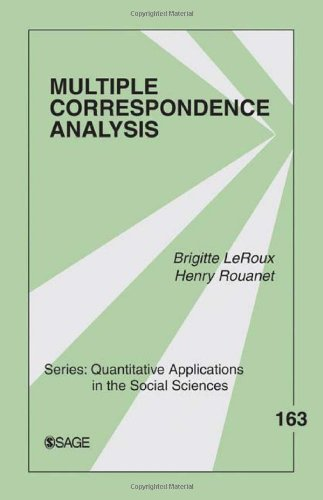 Multiple Correspondence Analysis   2010 9781412968973 Front Cover