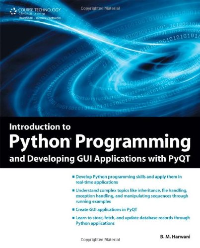 Introduction to Python Programming and Developing GUI Applications with PyQT   2012 edition cover
