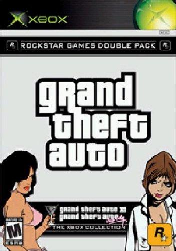 Rockstar Games Doppelpack: Grand Theft Auto 3 + Vice City Xbox artwork