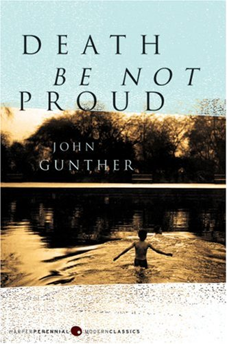 Death Be Not Proud  N/A edition cover