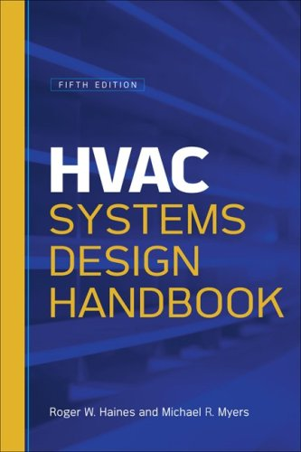 HVAC Systems Design Handbook  5th 2010 9780071622974 Front Cover