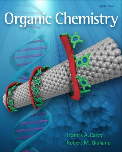 Solutions Manual Organic Chemistry  8th 2011 edition cover