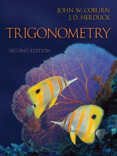 Trigonometry  2nd 2011 edition cover