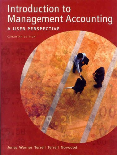 INTRO.TO MANAGEMENT ACCT. >CAN N/A edition cover