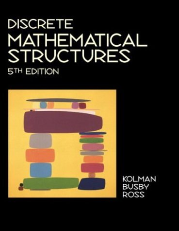 Discrete Mathematical Structures  5th 2004 (Revised) edition cover