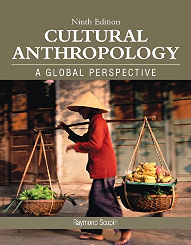 Cultural Anthropology:  9th 2015 edition cover