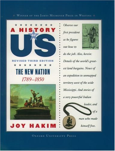 New Nation, 1789-1850  3rd 2005 (Revised) edition cover