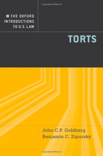 Torts   2010 edition cover