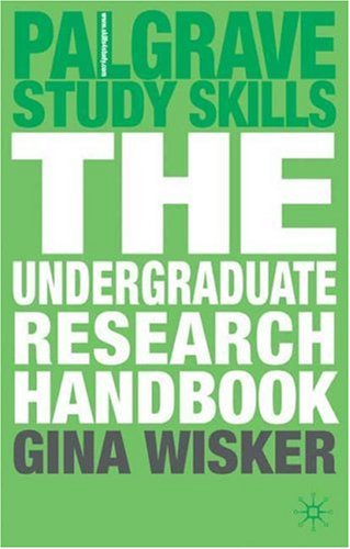 Undergraduate Research Handbook   2009 9780230520974 Front Cover