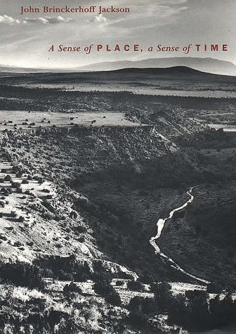 Sense of Place, a Sense of Time   1996 edition cover