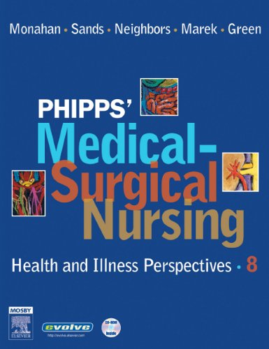 Phipps' Medical-Surgical Nursing Health and Illness Perspectives 8th 2006 (Revised) edition cover