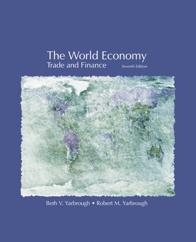 World Economy Trade and Finance 7th 2006 edition cover