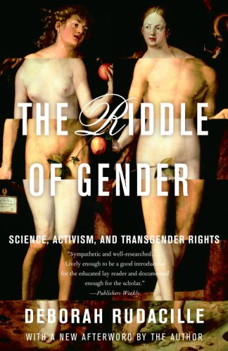 Riddle of Gender Science, Activism, and Transgender Rights  2006 edition cover