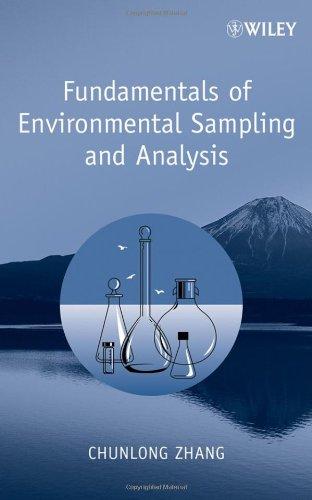 Fundamentals of Environmental Sampling and Analysis   2006 edition cover