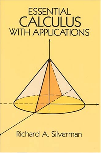Essential Calculus with Applications   1989 edition cover