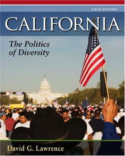 California The Politics of Diversity 6th 2010 edition cover