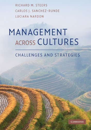 Management Across Cultures Challenges and Strategies  2010 9780521734974 Front Cover