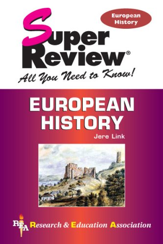 European History Super Review  N/A 9780738602974 Front Cover