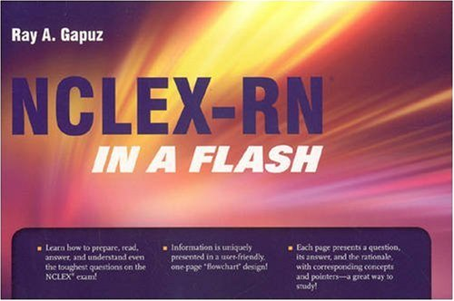 NCLEX-RN in a Flash  2009 9780763761974 Front Cover