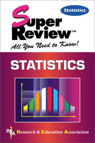 Statistics Super Review   2000 edition cover