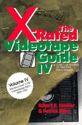 X-Rated Videotape Guide, 1992-1993  N/A 9780879758974 Front Cover