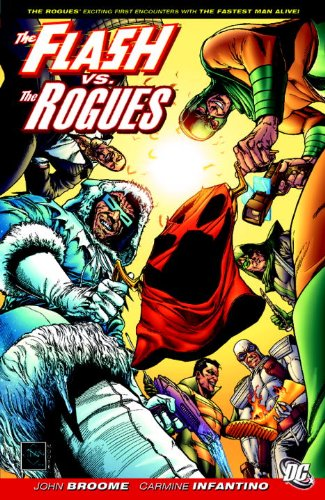 Flash vs. the Rogues   2009 9781401224974 Front Cover