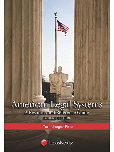 American Legal Systems A Resource and Reference Guide  2015 edition cover