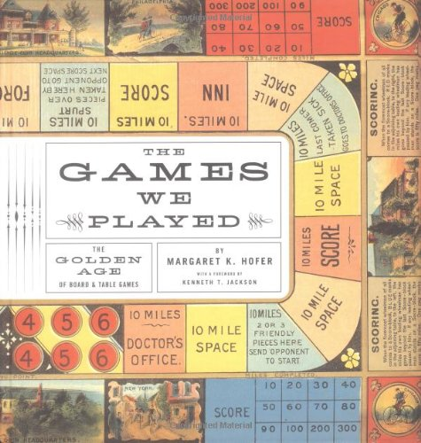 Games We Played The Golden Age of Board and Table Games  2003 edition cover