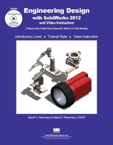 Engineering Design with SolidWorks 2012  N/A 9781585036974 Front Cover