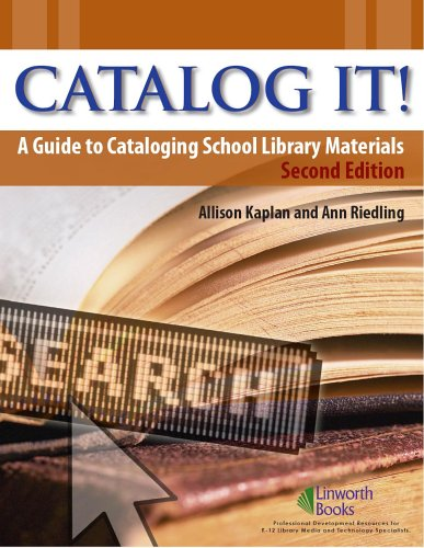 Catalog It! A Guide to Cataloging School Library Materials 2nd 2006 edition cover