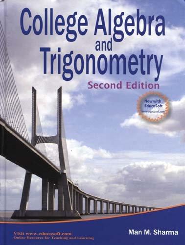 COLLEGE ALGEBRA+TRIGONOMETRY N/A edition cover