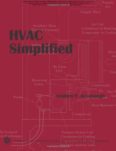 HVAC Simplified : Including Spreadsheet Tools on CD  2005 edition cover