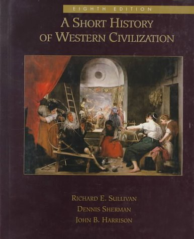 Short History of Western Civilization, Combined  8th 1994 (Revised) 9780070268975 Front Cover