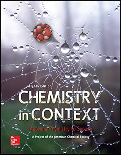 Chemistry in Context  8th 2015 9780073522975 Front Cover