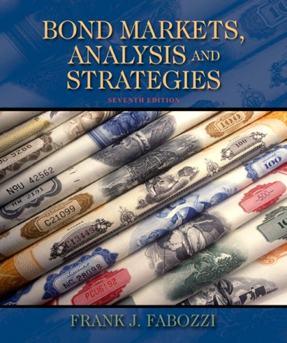Bond Markets, Analysis, and Strategies  7th 2010 edition cover