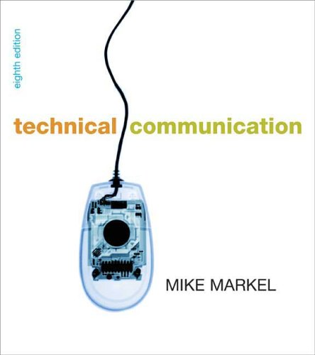 Technical Communication  8th 2007 edition cover