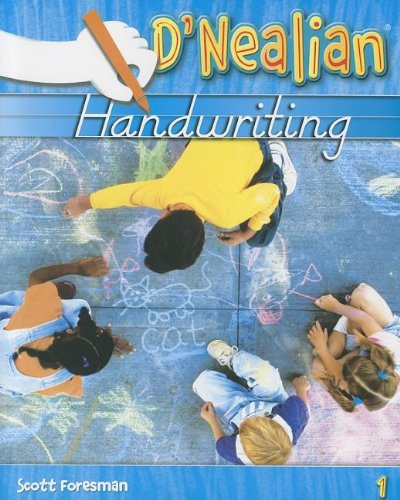 D'Nealian Handwriting Grade 1 (Student Edition)  2008 9780328211975 Front Cover