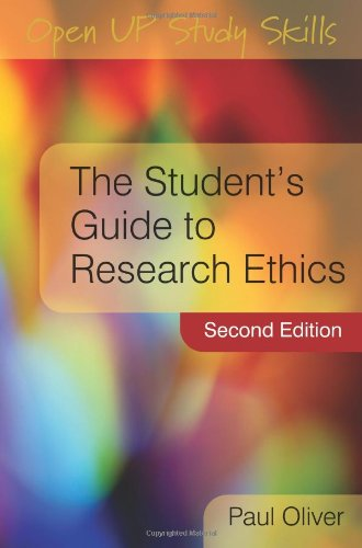 Student's Guide to Research Ethics  2nd 2010 edition cover