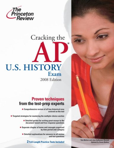 Cracking the AP U. S. History Exam, 2009 Edition  N/A 9780375428975 Front Cover