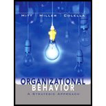 (WCS)Organizational Behavior A Strategic Approach Binder Ready without Binder N/A 9780471940975 Front Cover