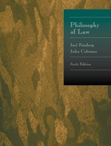 Philosophy of Law  6th 2000 edition cover