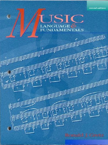 Music Language and Fundamentals  2nd 1993 (Revised) edition cover