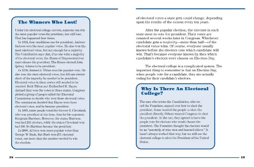Presidential Elections and Other Cool Facts  3rd 2012 (Revised) edition cover