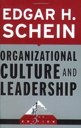 Organizational Culture and Leadership  3rd 2004 (Revised) edition cover